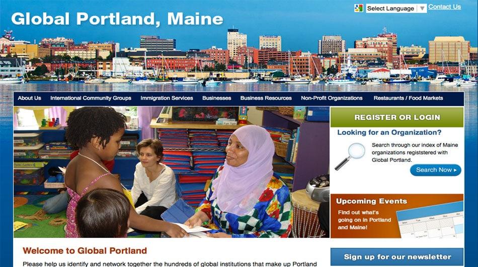 Global Portland Maine Homepage