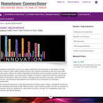 Site Launch! Hometown Connections