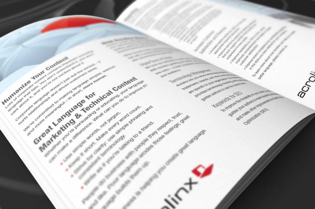 Acrolinx Brochure Interior