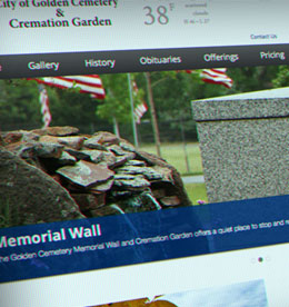 City of Golden Cemetery project