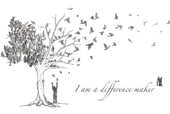 I Am a Difference Maker Logo